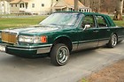 Custom 1994 Lincoln Towncar Lowrider with Hydraulics / Hydros Juiced Rims Show