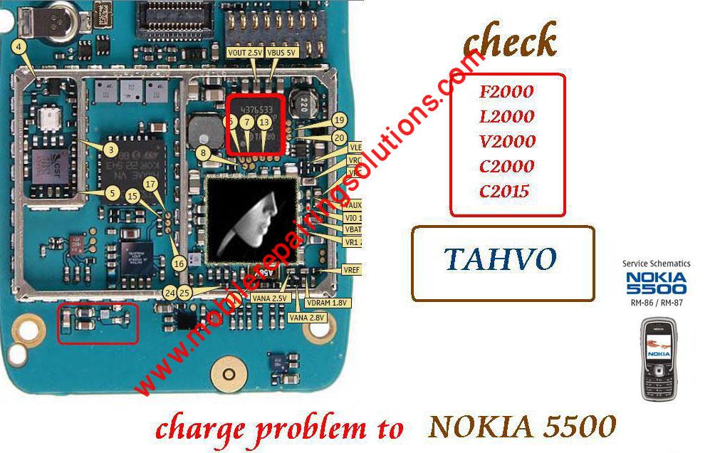 Nokia 5500 Not Charging, Nokia 5500 Charging Problem, Nokia 5500 ...