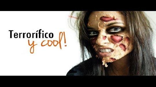 Maquillaje de halloween:Cara quemada