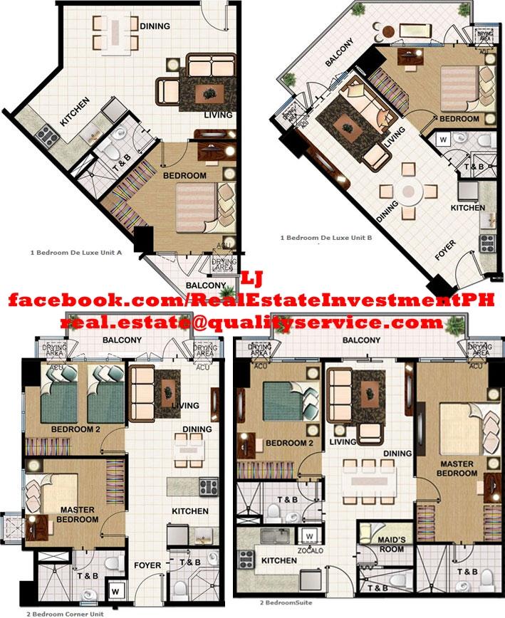 SMDC Field Residences Floor Plans
