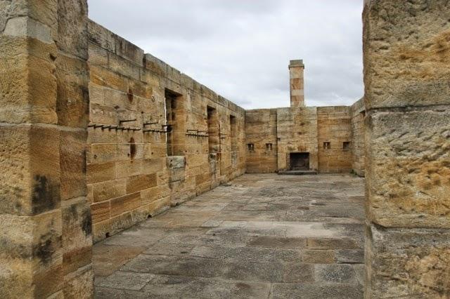 Guardhouse interior, Cockatoo Island, Sydney Harbour