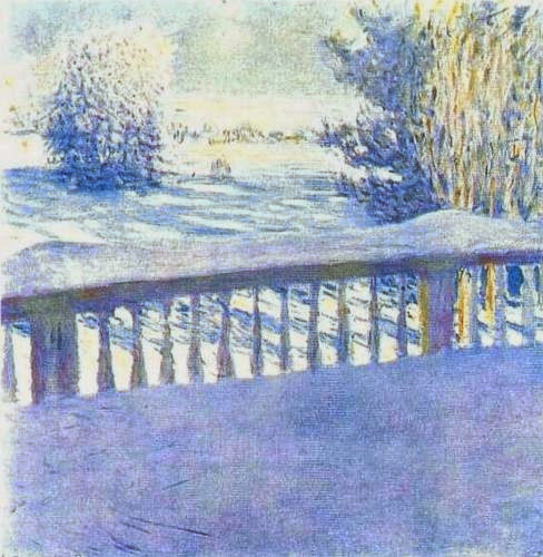 Igor Grabar - The Frost. Sunrise