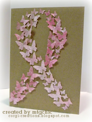 Breast Cancer Birthday Cake