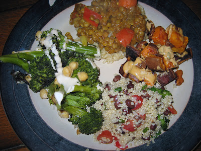 Lentils%252C+quinoa%252C+sweet+potatoes%252C+and+broccoli Going Meatless Monday