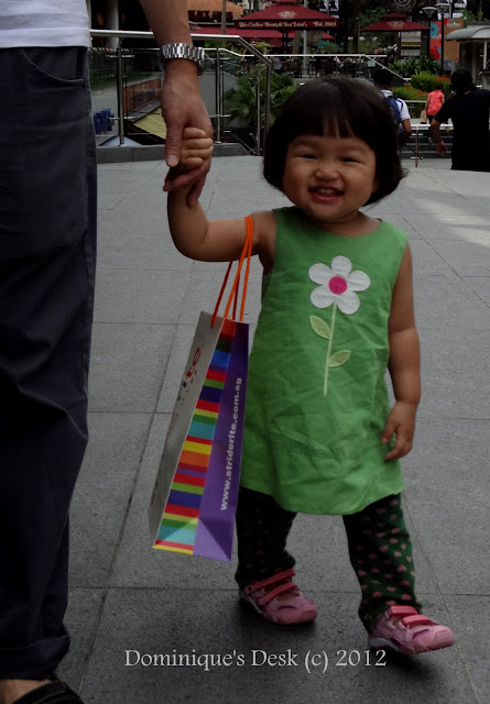 Tiger Girl shopping