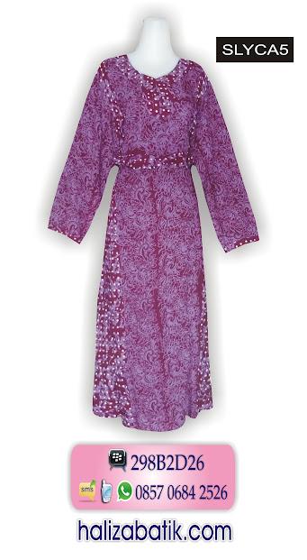 baju batik model terbaru, model baju batik modern terbaru, busana batik
