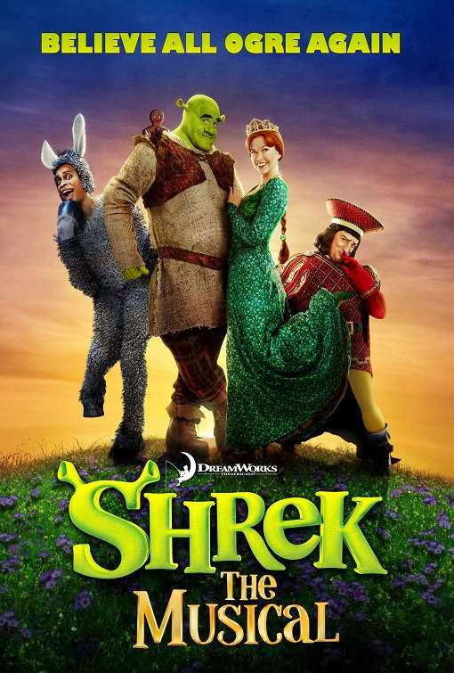 Poster Of English Movie Shrek the Musical (2013) Free Download Full New Hollywood Movie Watch Online At Alldownloads4u.Com