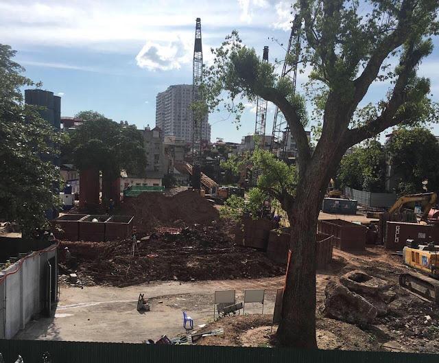 Cập nhật tiến độ thi công dự án chung cư Sun Grand City Thuy Khue Residence
