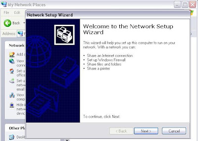 XP networking wizard image