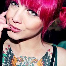 Cabelos coloridos - rosa