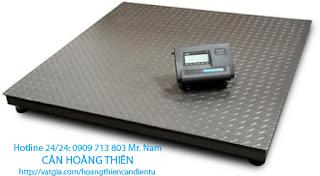 cân sàn điện tử yaohua yht3 1 tấn
