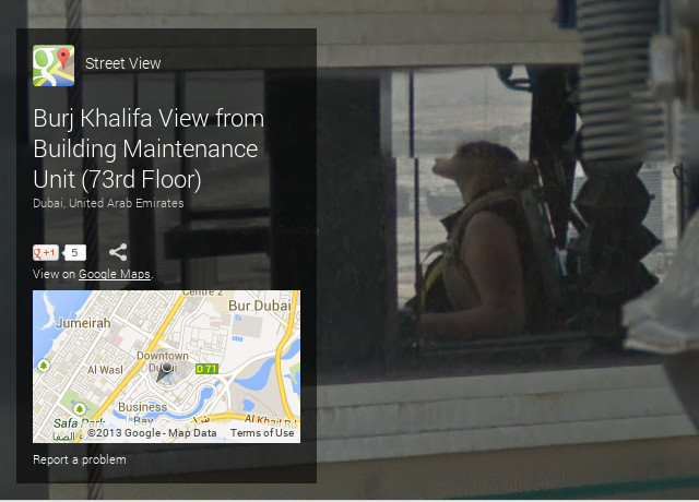 Pascal Malite, pemandangan dari Burj Khalifa