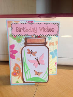 Cricut, Kate's ABC's, Birthday Cards