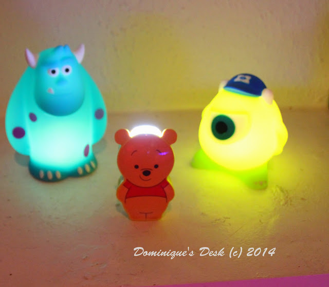 Mike and Sully Soft pal lights and Pooh Torchlight