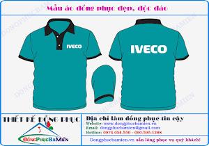 Đồng phục bán hàng Iveco