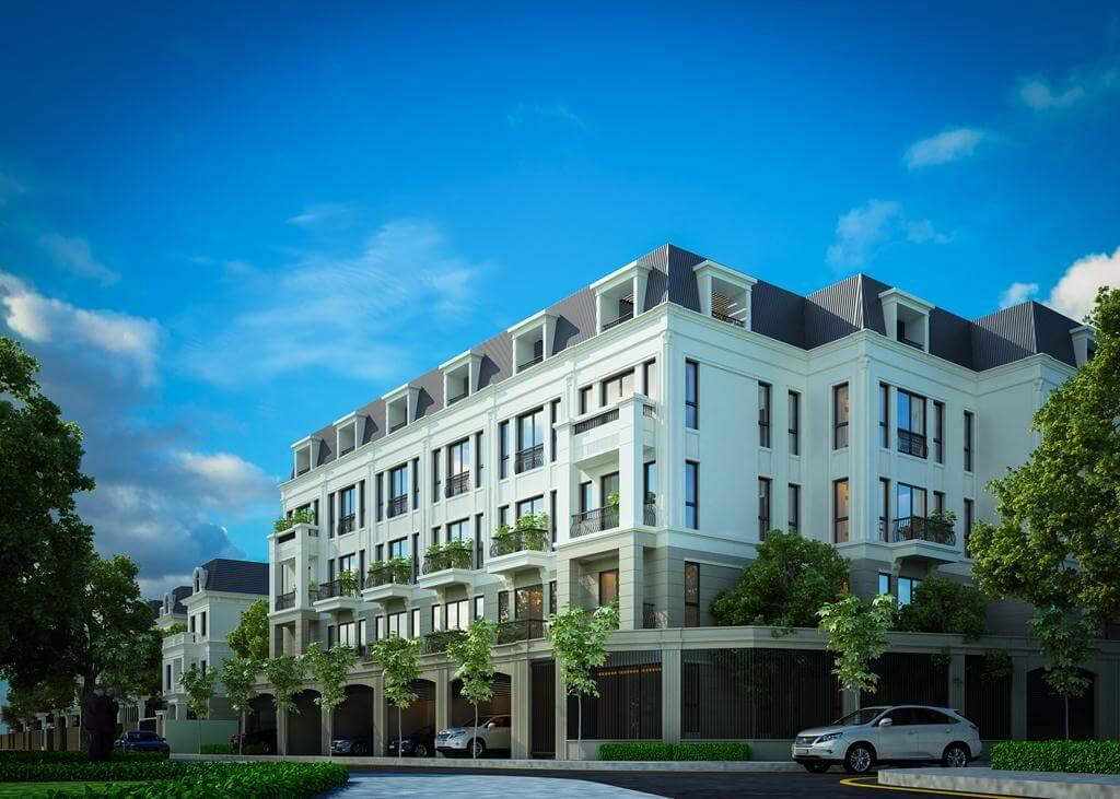 Khu nhà liền kề tại dự án chung cư Roman Plaza