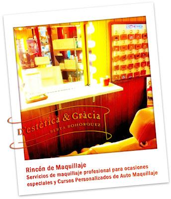 Rincón de Maquillaje en D'estètica & Gràcia