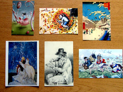 Bookish postcards part 1