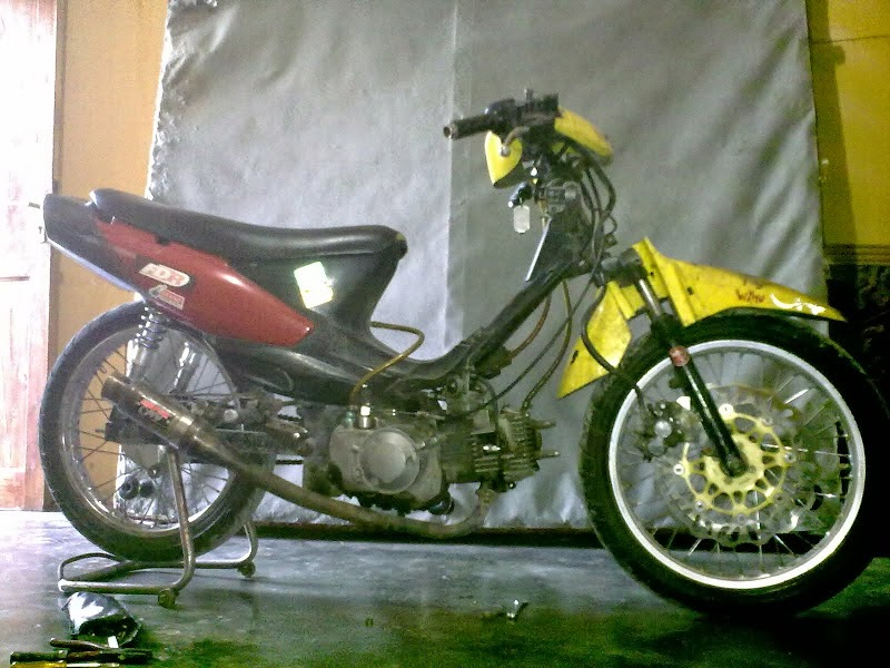 Modifikasi Motor Suzuki Shogun R 110