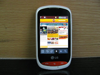 Review LG Cookie WiFi- Nice phone for young people