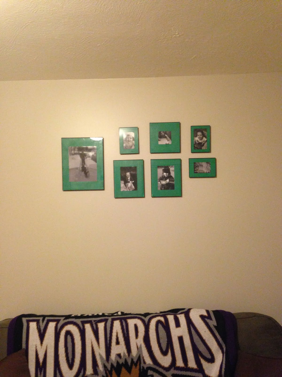 A Place for Jade: DIY: Fun Gallery Wall Idea
