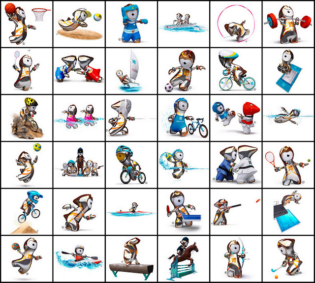 2012 Summer Olympic Sports by Mascots (images) Quiz - By ...