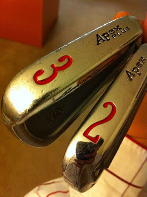 Ben Hogan Apex 2-iron, 3-iron