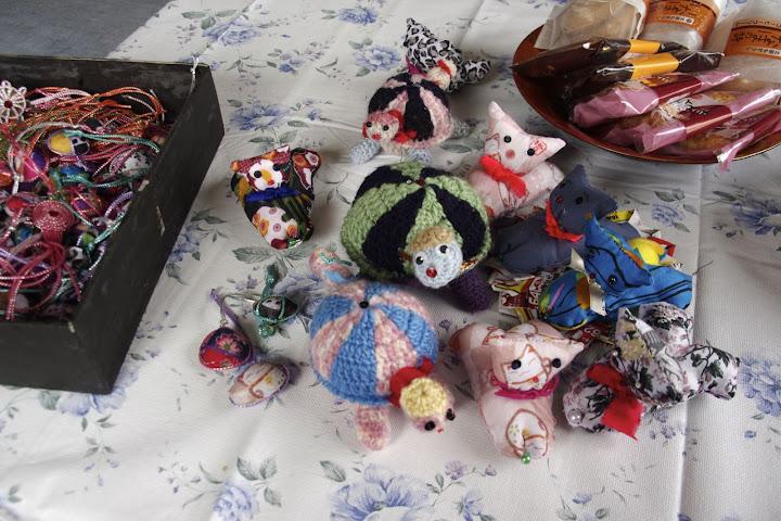 写真:松田さんの手作り小物