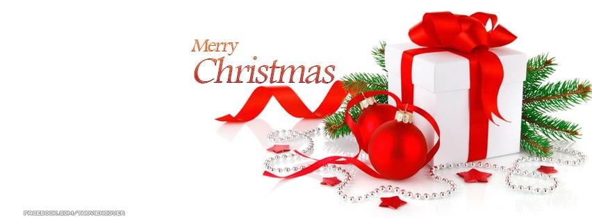 Ảnh bìa Merry Christmas cho FB