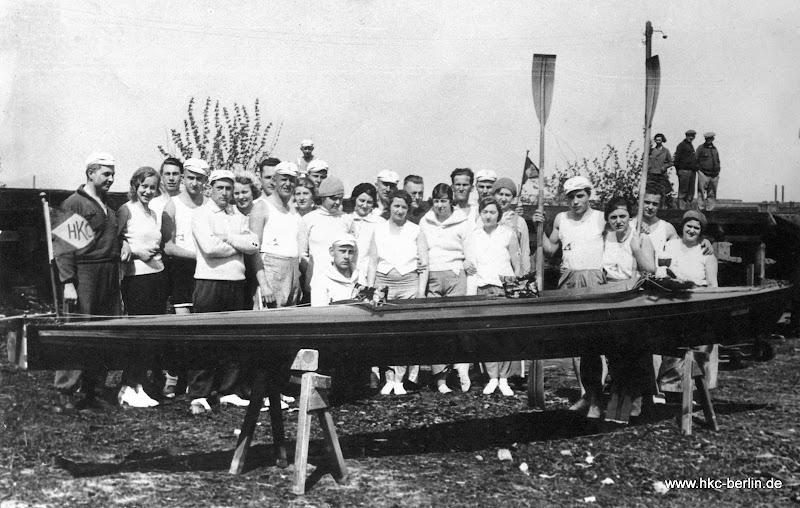 Eines der selbst gebauten Scharpie-Boote