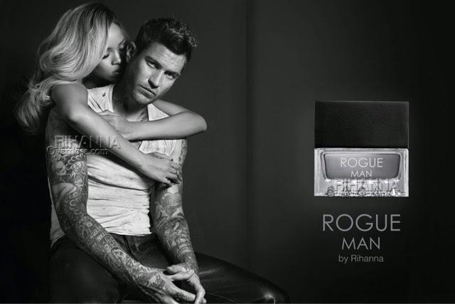 Rihanna presents ROGUE Man