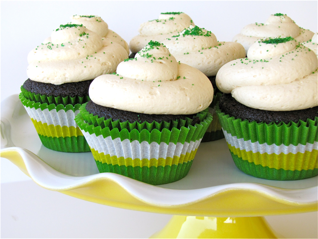 Susi S Kochen Und Backen Adventures St Patrick S Day Cupcakes