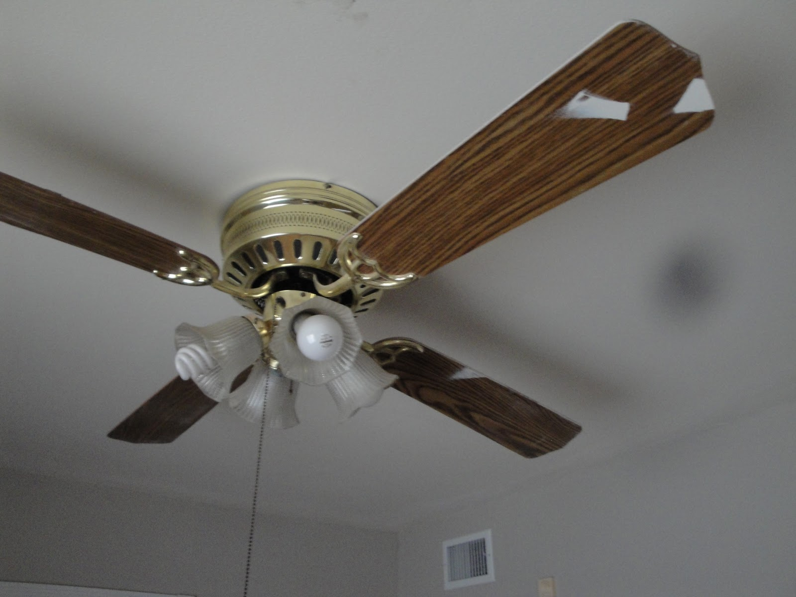 My kind of makeover ceiling fan makeover - Pictures of ceiling fans ...
