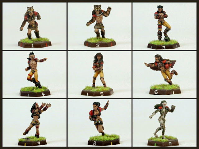 Impact! Miniatures Silvanos Blood Bowl