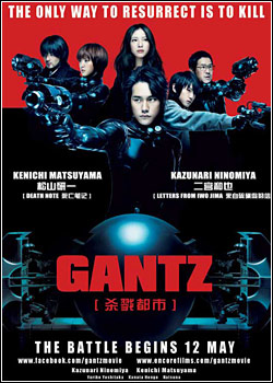 Download Gantz DVDRip AVi RMVB Legendado