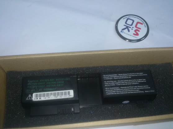 New Battery For HP Pavilion TX2500