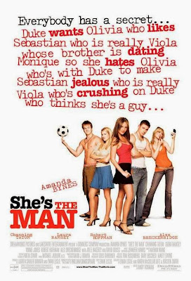 Poster Of She's the Man (2006) Full Movie Hindi Dubbed Free Download Watch Online At worldfree4u.com