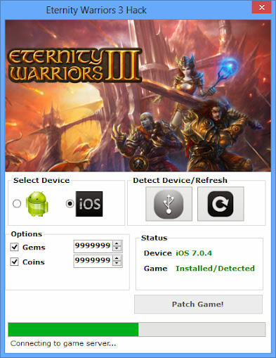 Eternity Warriors 3 Hack Tool without survey