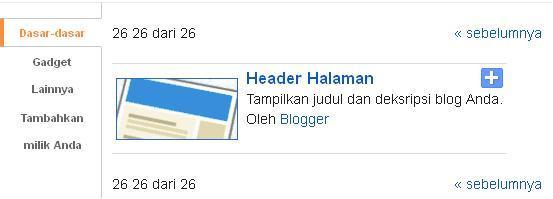 cara mengganti judul blog dengan gambar