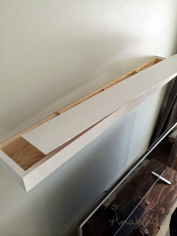 Ana White Modern Floating Shelf DIY Projects Gorgeous How Are Floating Shelves Attached