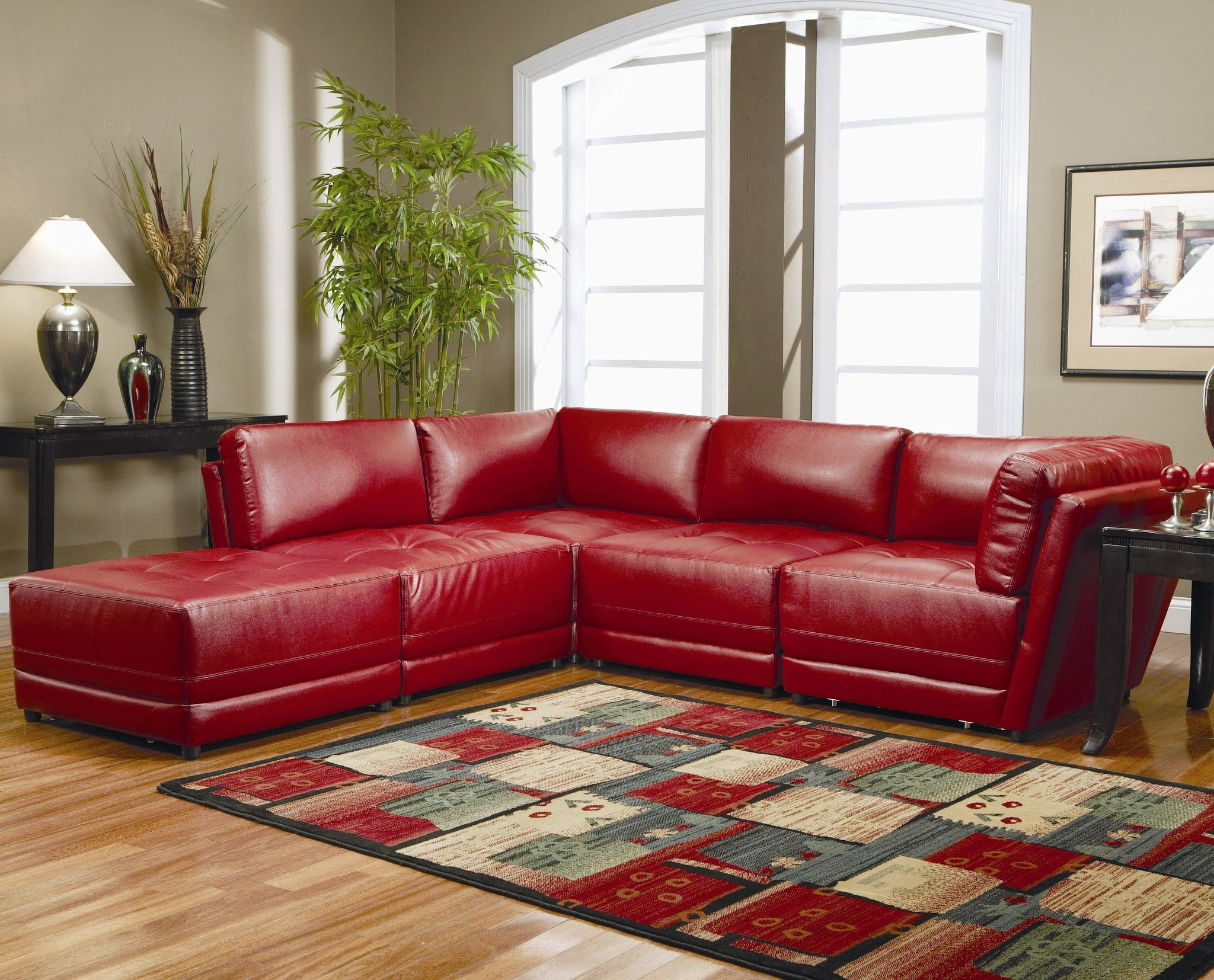 Livingroom Inspiration Terrific Red Faux