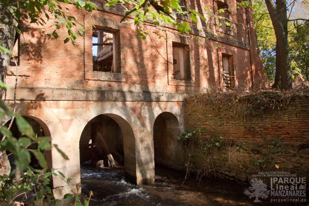 Cárcavo de molino Canal de Castilla