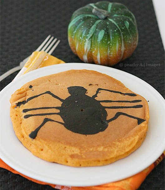 Pumpkin Pie Spiced Halloween Pancake