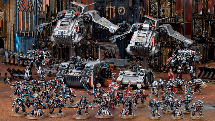 Warhammer 40k Codex Grey Knights Brand New Christmas Presents