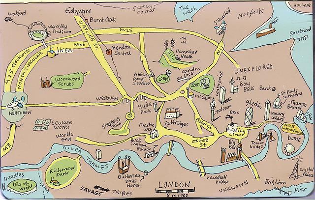Simplified Map Of London.Simplified Map Of London Twitterleesclub