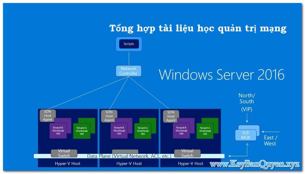 Tổng hợp tài liệu Video học quản trị mạng Windows Server 2016