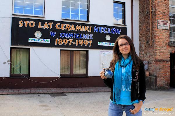 Chmielno - Muzeum Ceramiki Neclów - Kasia z mlecznikiem