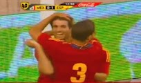 Video goles España Mexico sub 23[1 - 0] sub 23 amistoso