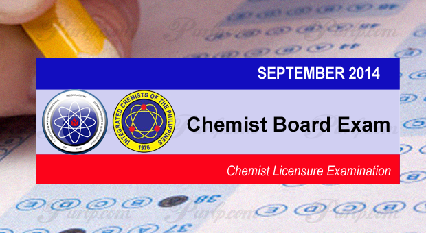Chemist Board Exam Results September 2014