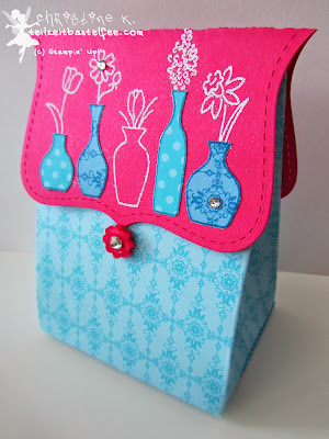 stampin up, vivid vases, top note, verpackung, box, designerpaper